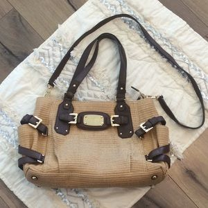 Michael Kors Woven Convertible Bag